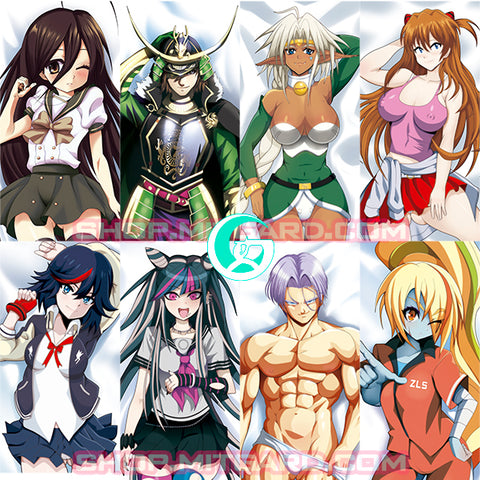 Artist commission body pillow: Look for your dreamed custom OC / character Dakimakura - CELL SHADING Painted version