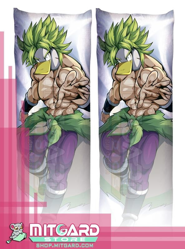 JEFFAR VLOGS BrolyGanso Body pillow OC Dakimakura hugging case comic - Mitgard Studio - 50cmx150cm / Peach Skin / 2 Sides Printed