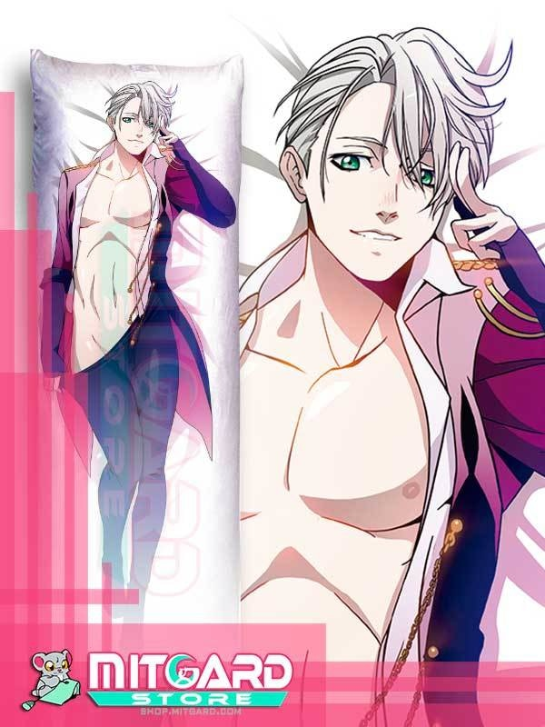 YURI ON ICE!!! Victor Nikiforov Body pillow V1 Dakimakura hugging case anime - Mitgard Studio - 50cmx150cm / Peach Skin / One side: Picture