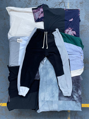 Patchwork Sweatpants