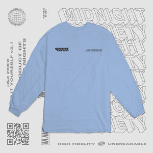 TPOSN LONGSLEEVE - POWDER BLUE