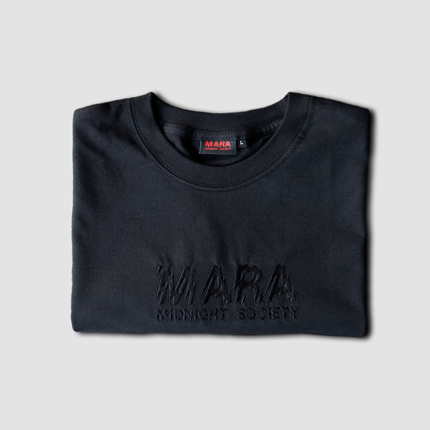 EMBROIDERED - BLACK/BLACK