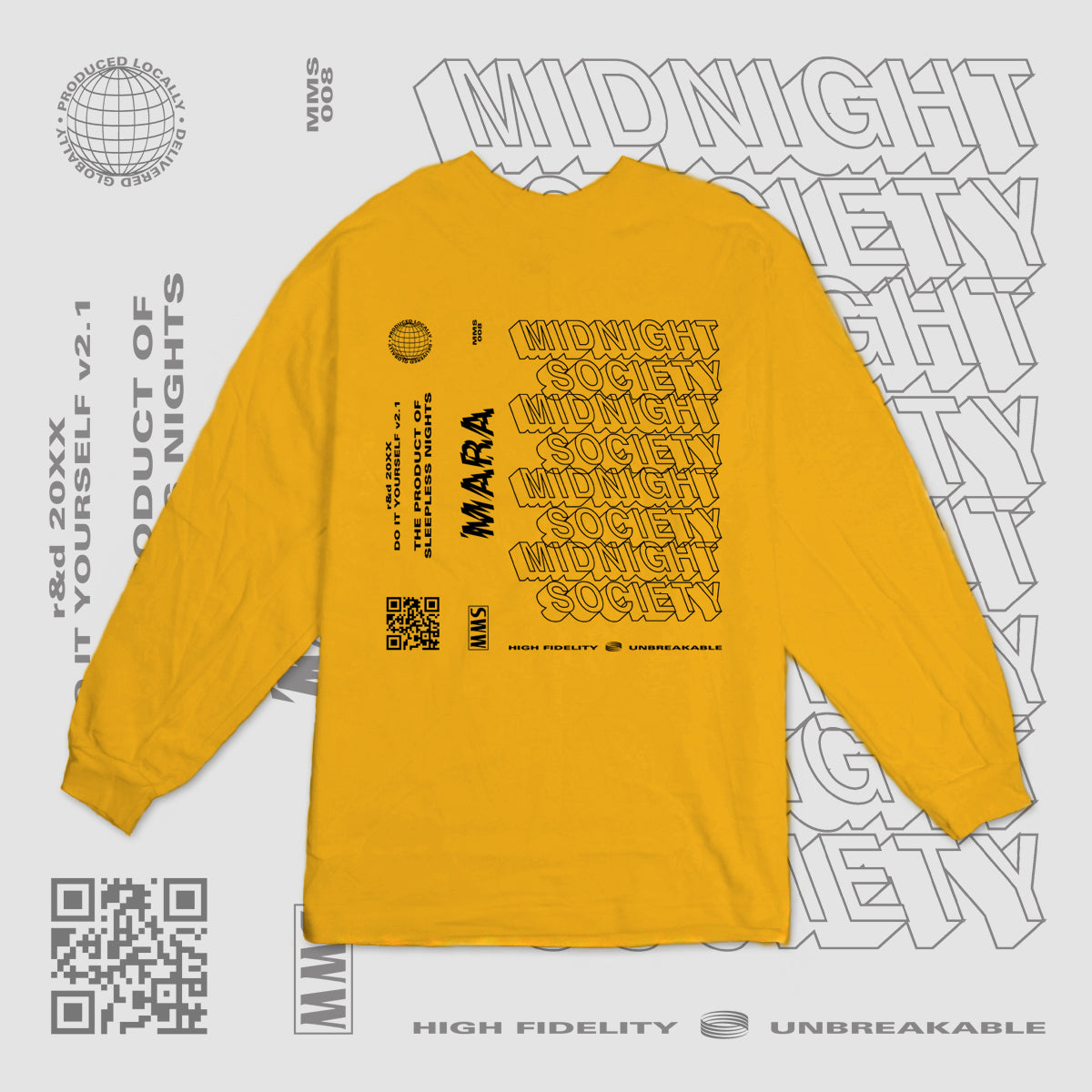 TPOSN LONGSLEEVE - SUNFLOWER YELLOW