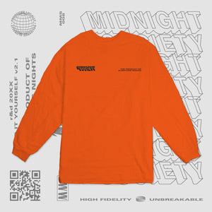 TPOSN LONGSLEEVE - CONSTRUCTION ORANGE