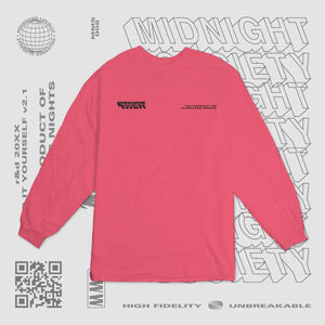 TPOSN LONGSLEEVE - PUNCH PINK