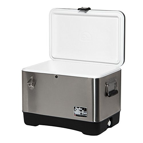 Igloo Stainless Steel Cooler, 54 quart