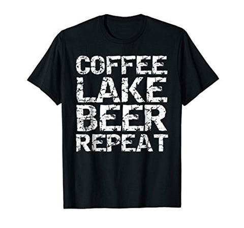 Coffee Lake Beer Repeat T-Shirt