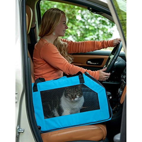Pet Car Seat & Carrier for cats and dogs up to 20-pounds