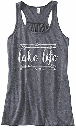 Beach Bum Tees ' Lake Life ' Tank Top
