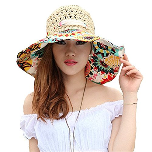 Womens Summer Sun Beach Hat
