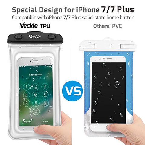 2 Pack Universal Waterproof Cell Phone Case-Waterproof Pouch