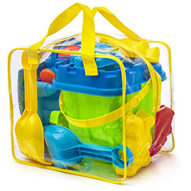Beach Toy Set in Reusable Zippered Bag