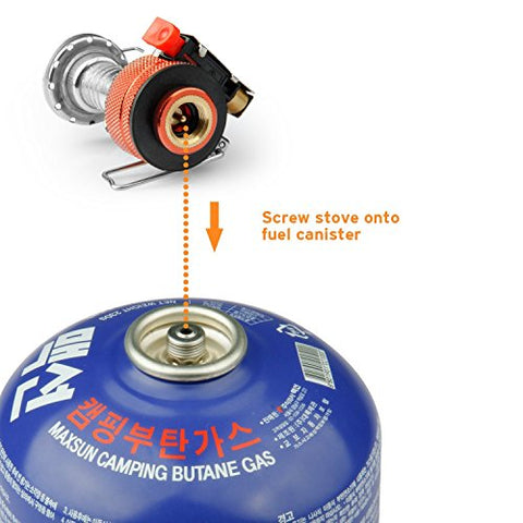 Backpacking Camping Stoves with Piezo Ignition