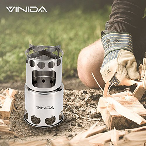 Wood Burning Camping Stove