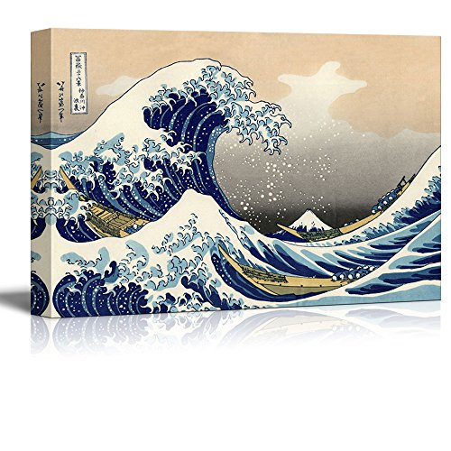 The Great Wave Off Kanagawa by Katsushika Hokusai Reproduction