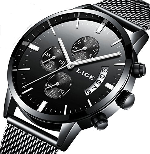 Luxury Stylish Stainless Steel Watch
