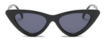 Black- Retro Sunglasses