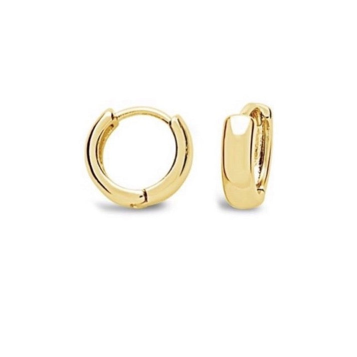 Bold Huggie Hoop Earrings