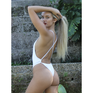 """White Pearl"" One Piece Swimsuit"