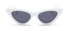 White- Retro Sunglasses