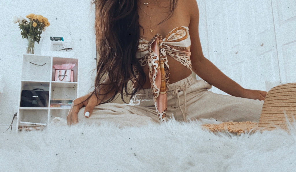 Rose Gold Chain Top
