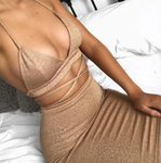 """Maddison Gold"" Two Piece Set"