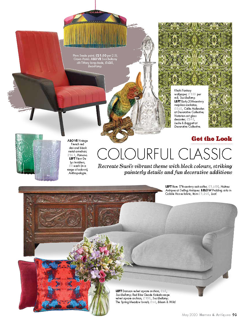 Homes & Antiques May 2020 - Private Palazzo