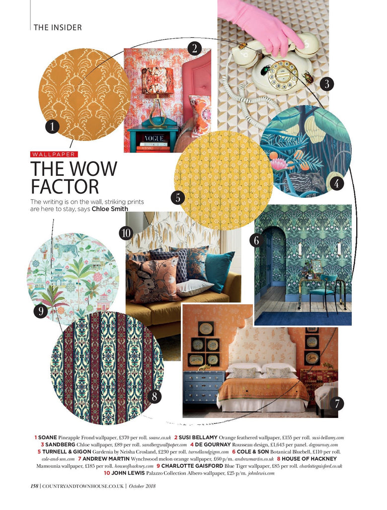 country & Town House magazine - inside