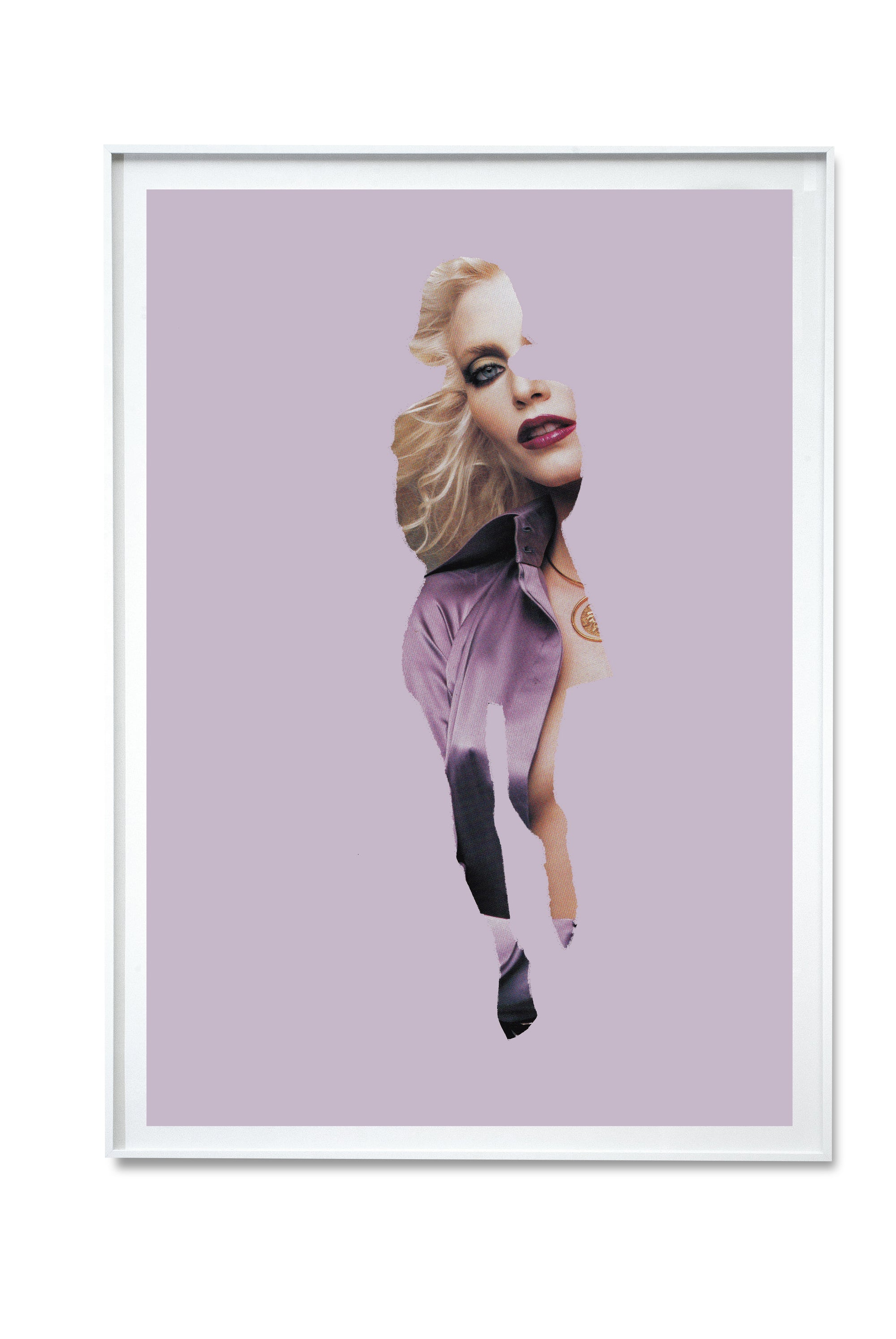 Lavender Fashion Digital Print