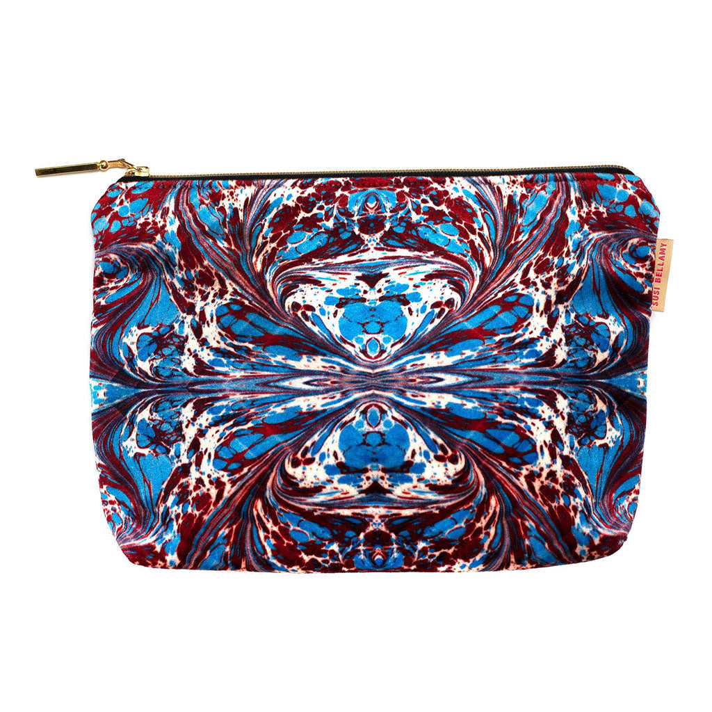 Blue Fantasy Washbag