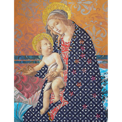 Golden Madonna Digital Print
