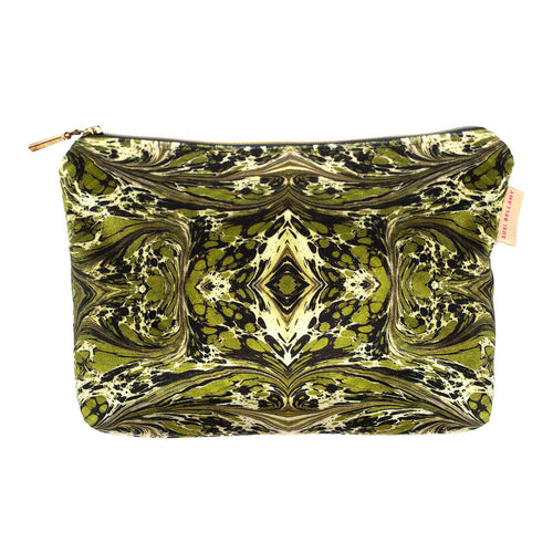 Khaki Fantasy Kaleidoscope Washbag