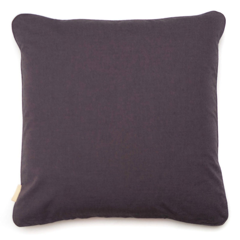 Lavender Stucco Kaleidoscope Abstract Velvet Square Cushion
