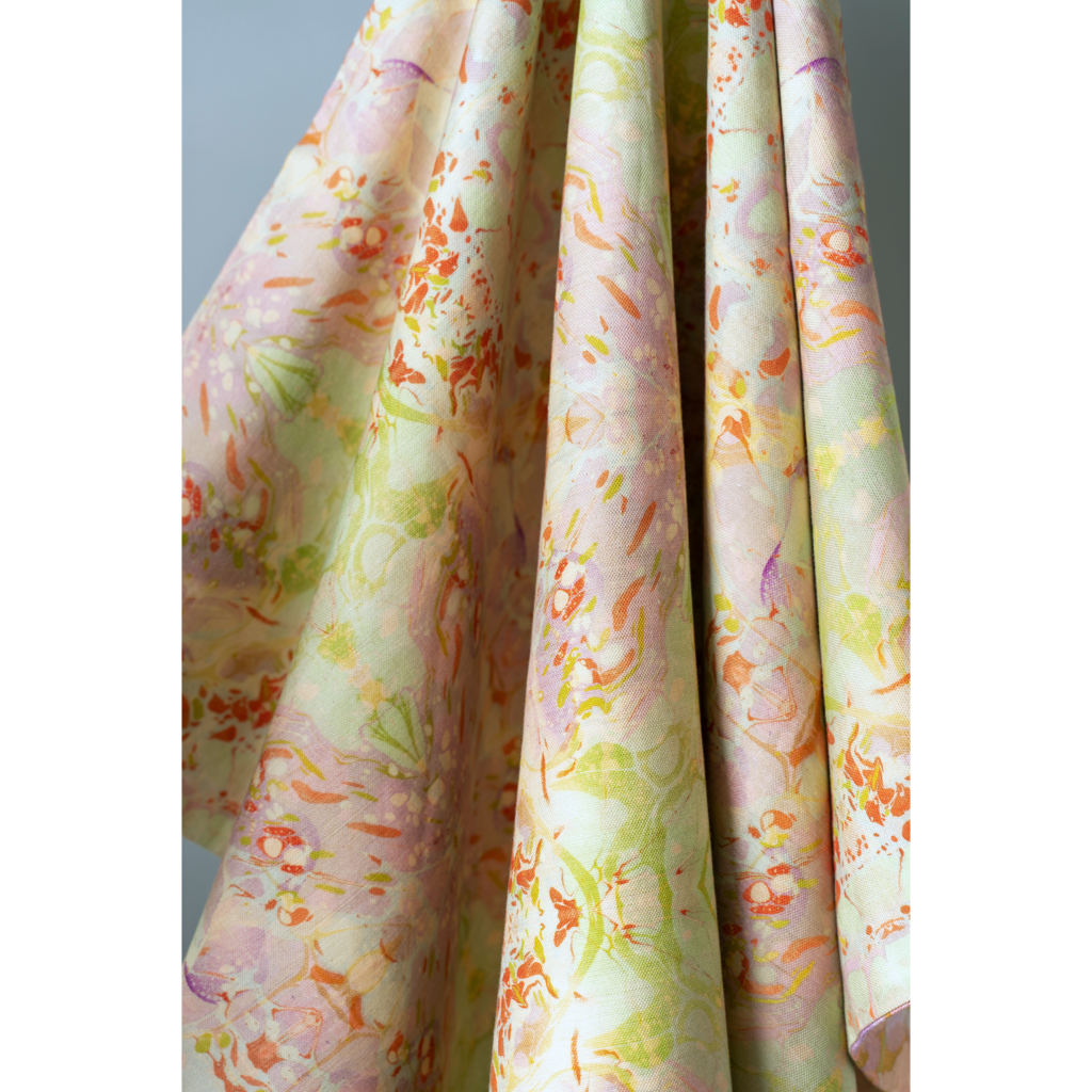 Indian Summer Linen Fabric