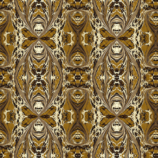 Khaki Brown Fantasy Fabric