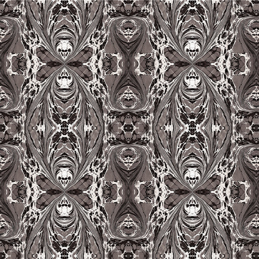 Grey Fantasy Fabric