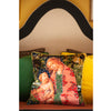 Marbled Madonna Collage Square Velvet Cushion