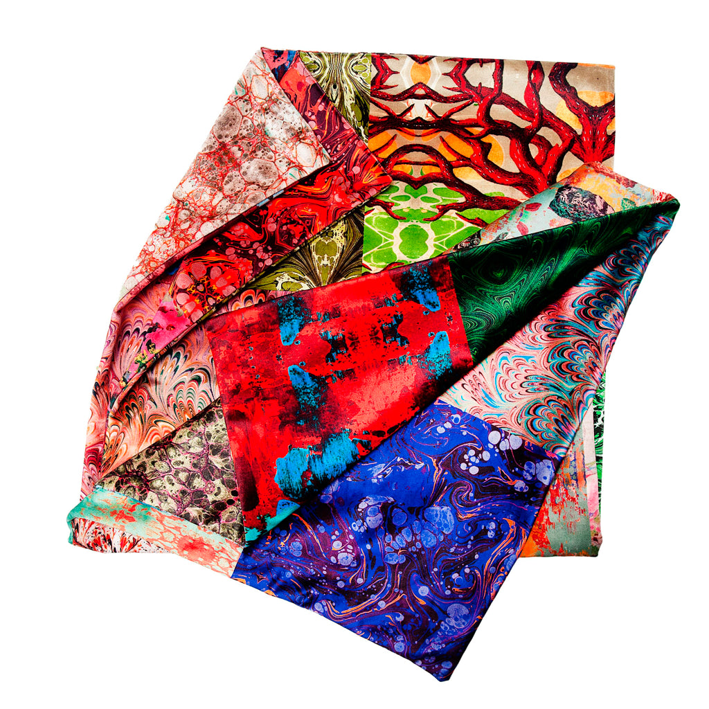 Susi Bellamy Fabrics Patchwork Throw
