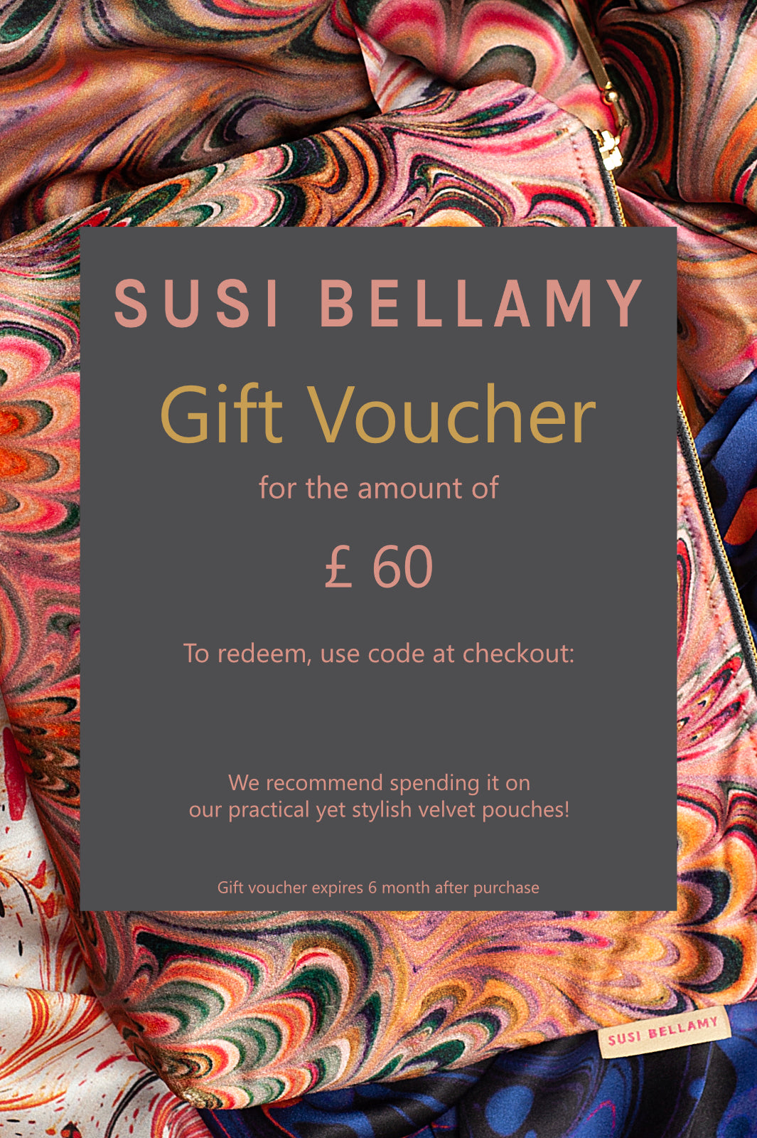 Susi Bellamy Gift Voucher for £60