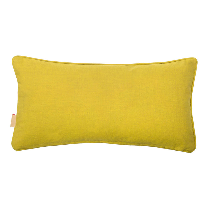 Branched Coral Velvet Oblong Cushion
