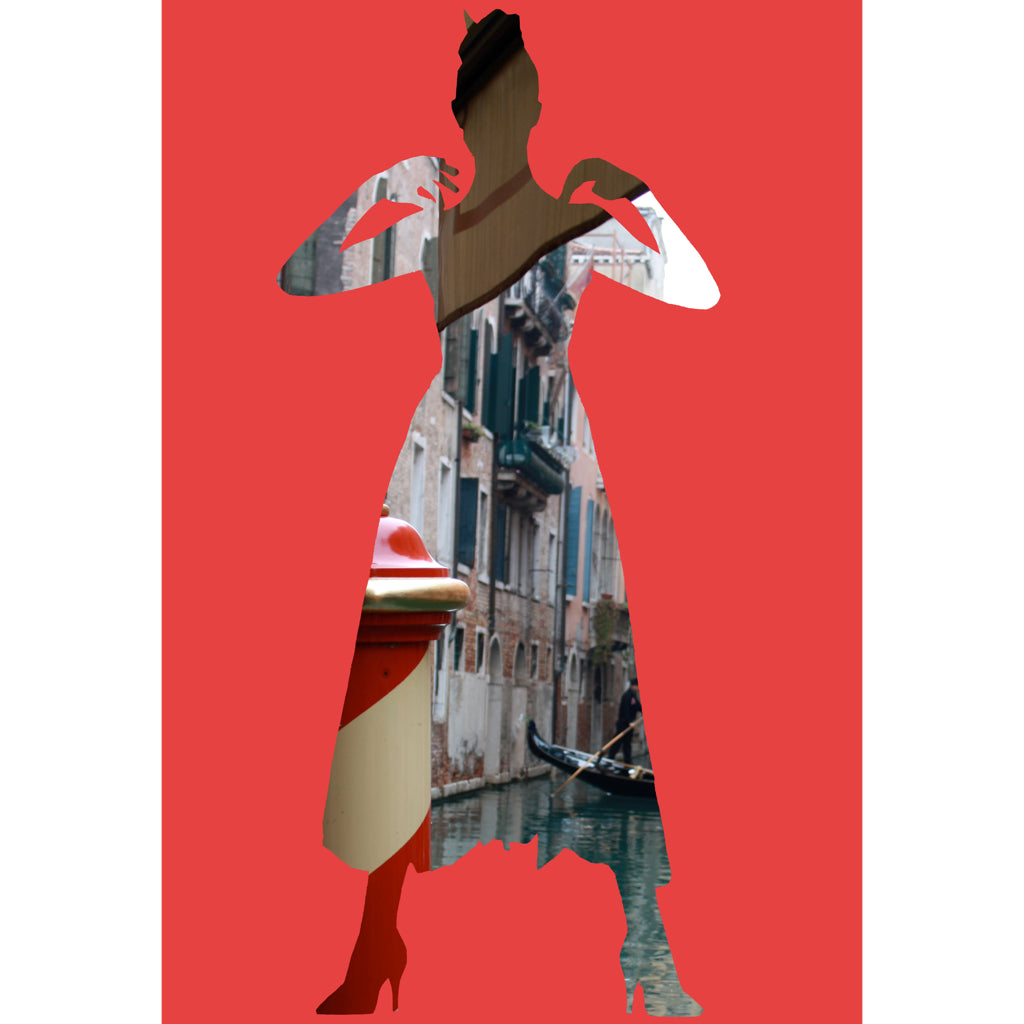 Venice Girl I Digital Print