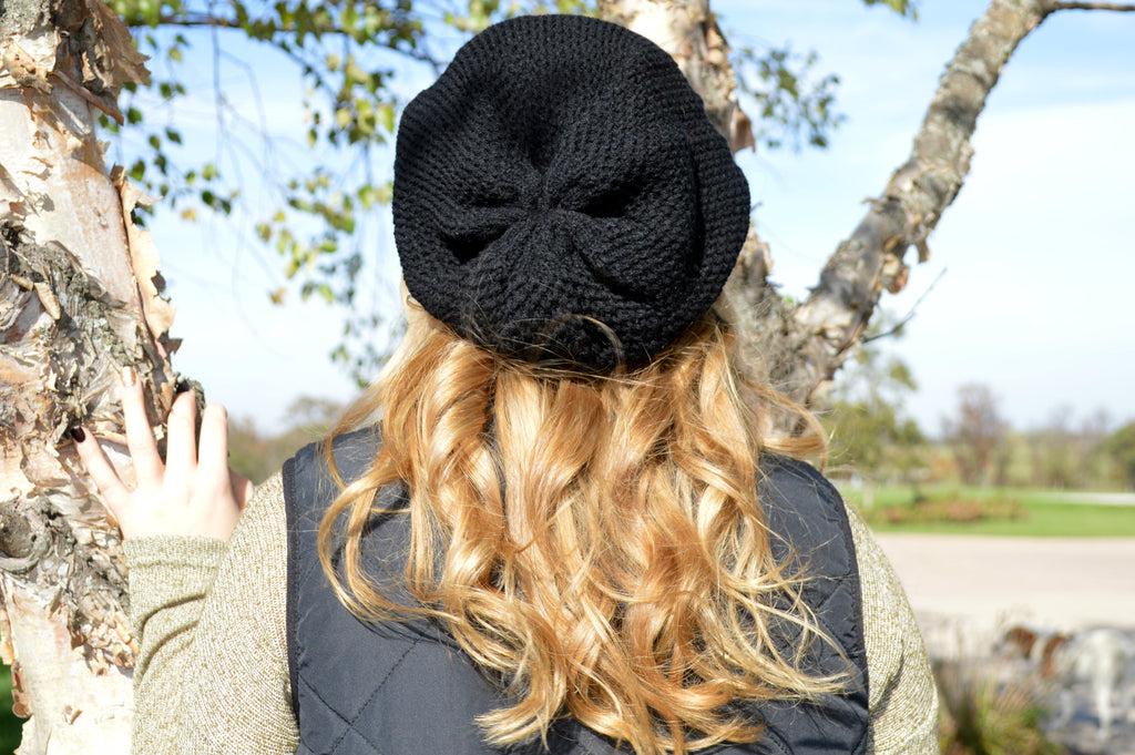 cd0af30ef10 Waffle Knit Slouch Beanie – Cornfields and Caviar Boutique