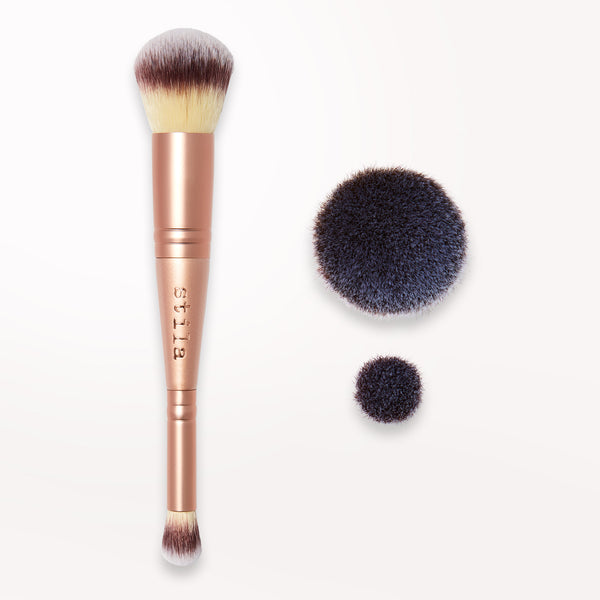 Photo of Double-Ended Complexion Brush