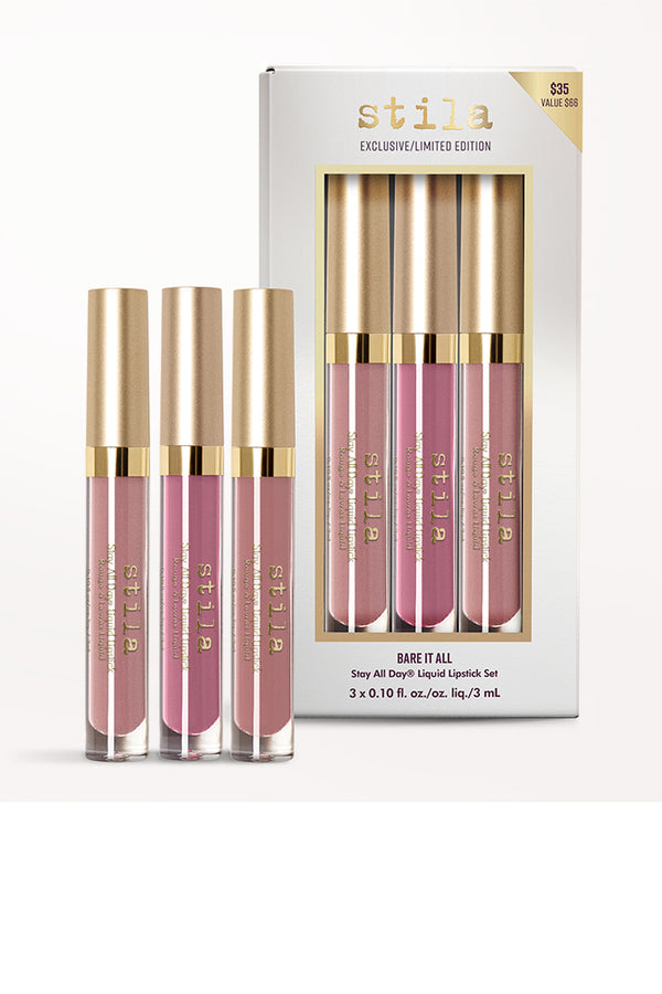 Bare It All Stay All Day Liquid Lipstick Set