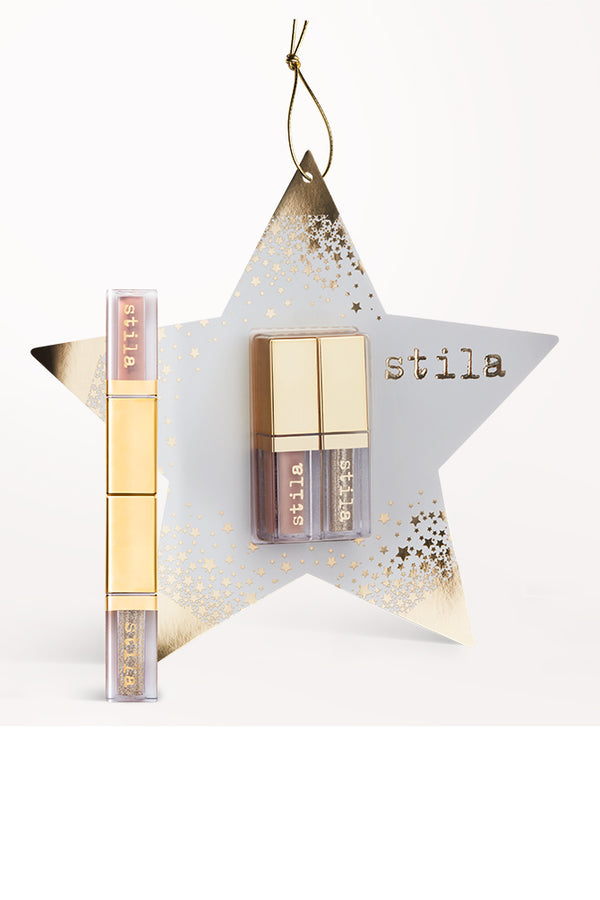 Stila Double Dip Suede Shade and Glitter & Glow Liquid Eye Shadows - Star Ornament