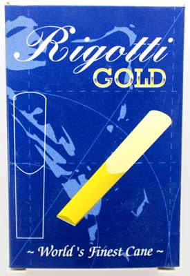 Rigotti Gold Bb Clarinet Reeds, 10/Box