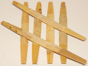 Advantage Oboe Cane, Gouged, Shaped, Profiled and Folded