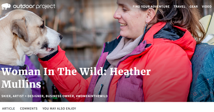 Woman In The Wild: Heather Mullins