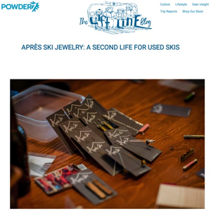 Apres Ski Jewelry: A Second Life for Used Skis