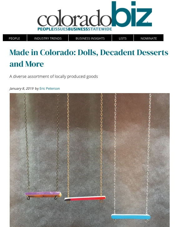 Made in Colorado: Dolls, Decadent Desserts & More
